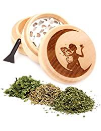 Get Fairy Engraved Premium Natural Wooden Grinder Item # PW91316-4 offer