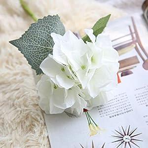 YJYdada Artificial Silk Fake Flowers Hydrangea Floral Wedding Bouquet Party Decor 2