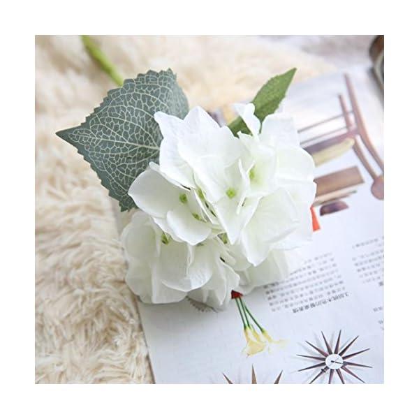 YJYdada-Artificial-Silk-Fake-Flowers-Hydrangea-Floral-Wedding-Bouquet-Party-Decor