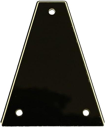 Custom Guitar Truss Rod Cover For Import Jackson Guitars Black 3ply USA