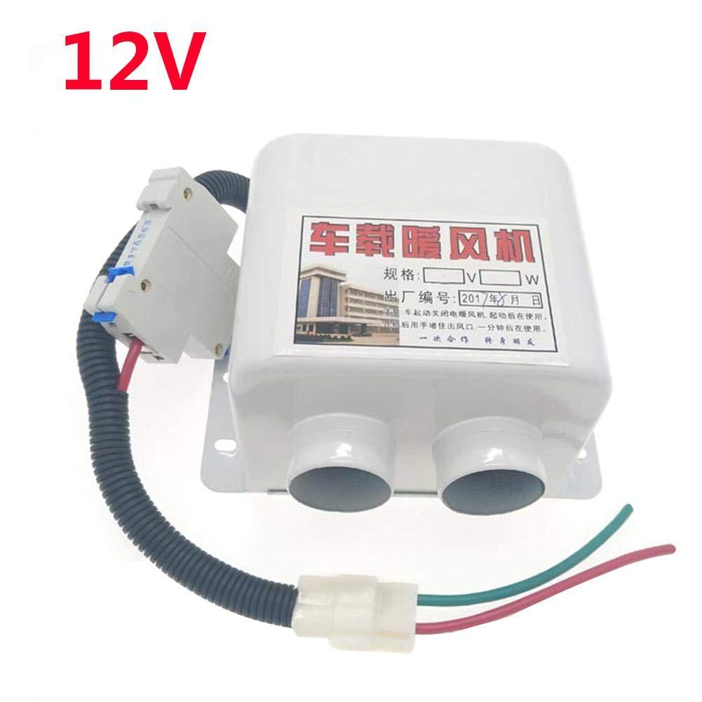 ATpart Auto Elektroradiator 12V 24V Auto Glas Defroster 2 Lö cher Elektroheizung LKW Defogging