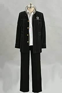 Shin Megami Tensei Persona 4 Boy's Uniform Cosplay Costume Customize Cosplay Costume M
