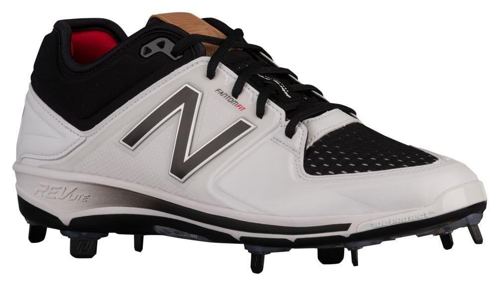 [ニューバランス] New Balance 3000V3 Metal Low メンズ ベースボール [並行輸入品] B071LHY1Y7 US12.0|ホワイト/ブラック ホワイト/ブラック US12.0