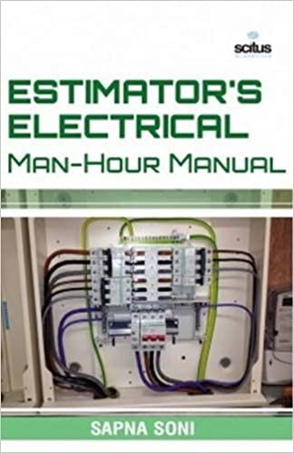 Book Estimator's Electrical Man-hour Manual