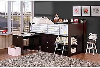 Savannah Twin Loft Bed w/ Desk