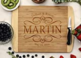 Personalized Cutting Board - Elegant Design
