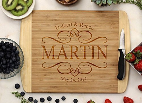 Personalized Cutting Board - Elegant Design ()