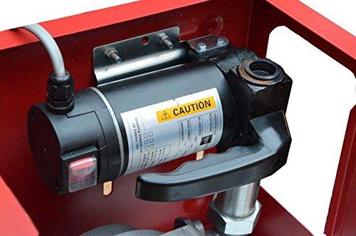 con pistola automatica 12 V Pompa per trasferimento diesel Adblue montato a muro