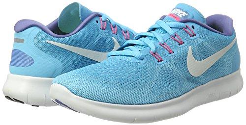 Bleu Femmes Free Blanc Chlore Pour Polaris Chaussures Course bleu 2017 De Rn Nike Cass Bleues wnnaFOHq