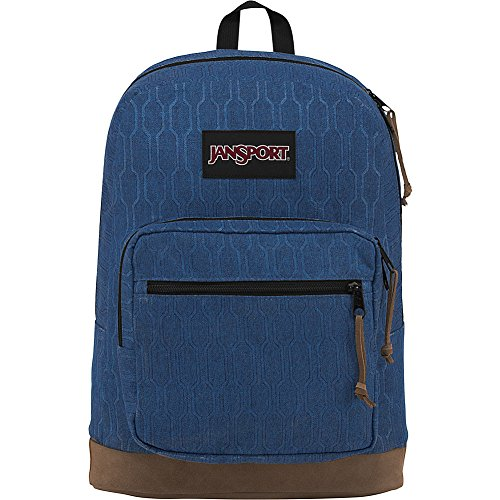 JanSport Right Pack Digital Edition- Sale Colors (Navy Hex Hive)