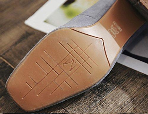 brut Chaussures hauts carrées pour tête chaussures à Taille profonde bouche Noir talons à Noir Couleur 38 ZCJB Sandales femme peu Talon carrée xqgwC5w8nv