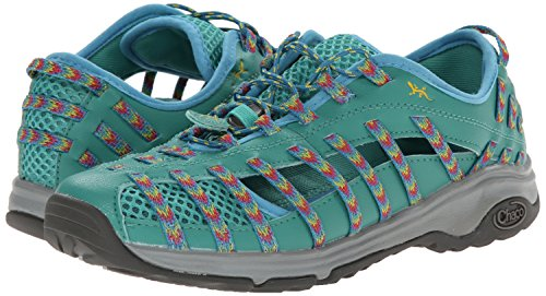 Chaco OutCross Evo 2 Mujer US 6 Verde Zapato de Senderismo UK 4 EU 37