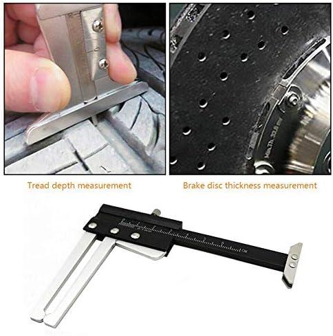 L.BAN Disc Brake Rotor Thickness Caliper 0-60mm Gauge Gage Micrometer Measuring Tool