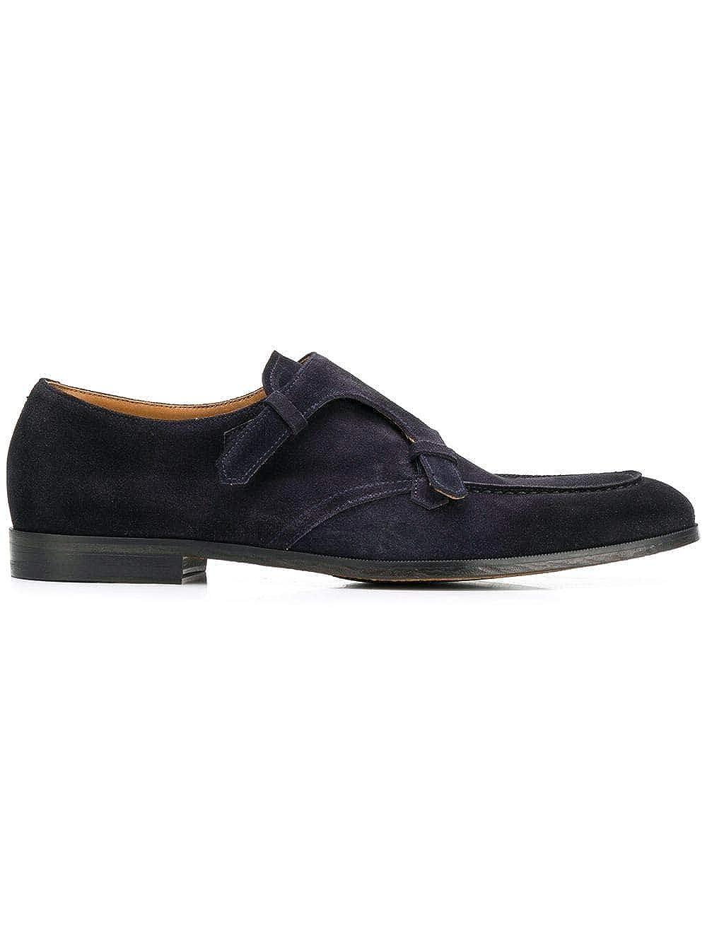 - DOUCAL'S Herren DU1940DEREUZ067NB00 Blau Wildleder Monk-Schuhe
