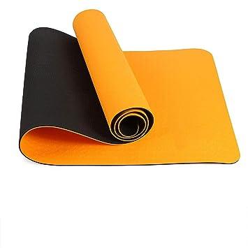Exrebon Esterilla de Yoga de 72 Pulgadas x 24 Pulgadas x 1/4 ...