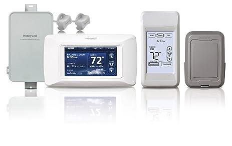 honeywell ythx9421r5077 prestige iaq 2 0 hd 2 wire thermostat kit rh amazon com IAQ Products Honeywell IAQ Installer Setup