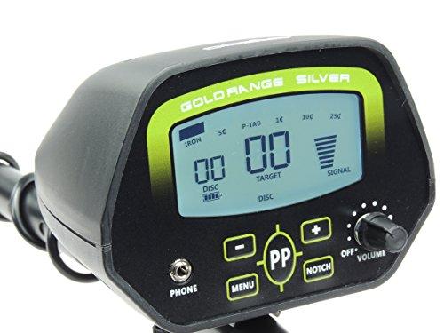GC -1037 Master Shooter Digital Detector de metales: Amazon.es: Bricolaje y herramientas