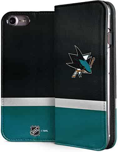 352e8abf0db San Jose Sharks iPhone 8 Case - San Jose Sharks Jersey | NHL & Skinit Folio