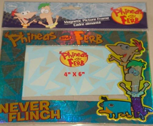 (Phineas and Ferb Magnetic Dimensional Photo Picture Frame!)