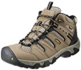 KEEN Men's Koven Mid WP Hiking Boot,Shitake/Brindle,9.5 M US