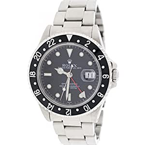 Rolex GMT Master II automatic-self-wind mens Watch 16700 (Certified Pre-owned)