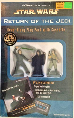 Star Wars Walt Disney Records 1997 Return of the Jedi Read-Along Play Pack with Cassette (Star Wars Read Along Cassette)