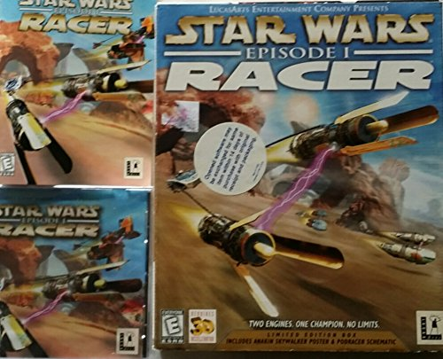 Star Wars Episode 1: Racer - PC Limited Edition Box (Star Wars Pc Collection)