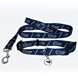 St. Louis Rams Pet Set Dog Leash Collar ID Tag MEDIUM