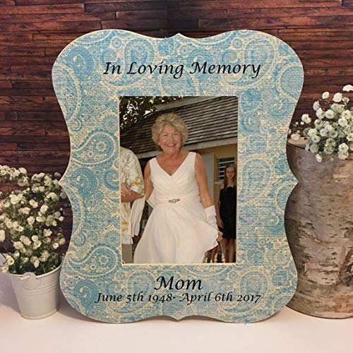 Amazoncom Personalized Memorial Frame Wedding Memorial Frame