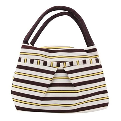 Lunch Bag,Neartiem Convenient Portable Lunch Packet for Picnic (Yellow)