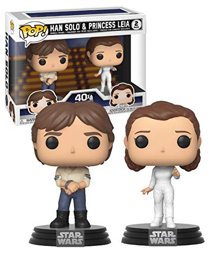 Funko Pop! Star Wars: Star Wars - Han and Leia 2-Pack