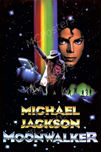 - PremiumPrints - Michael Jackson Moonwalker Movie Poster - XMCP897 Premium Canvas 11