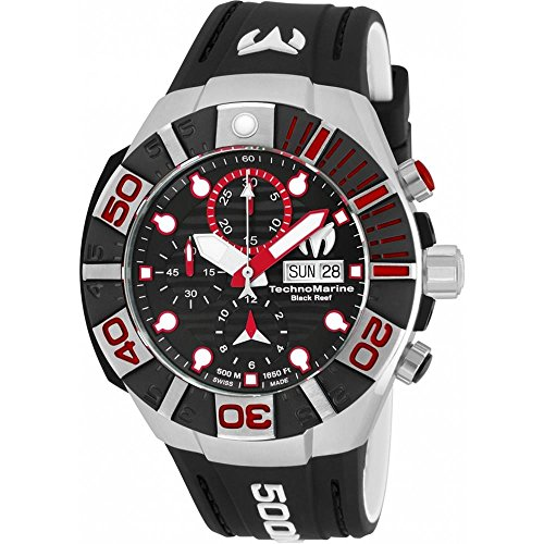Technomarine Men's 'Reef' Automatic Stainless Steel and S...