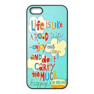 Happy Enjoy your life Cell Phone Case for Iphone 5s