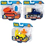 Set of 3: Fisher-Price Bob the Builder Die-Cast Vehicle - Scoop, Muck, Two-Tonne