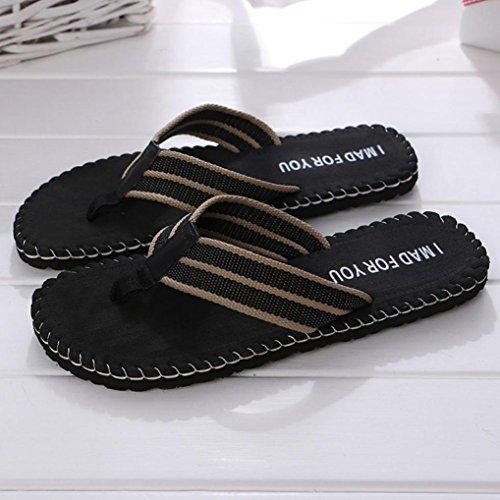 Sikye Männlichen Pantoffel Sommer Strand Freizeitschuhe Indoor Outdoor Flip Flops Sandalen Ich Für Sie Gemacht Schwarz