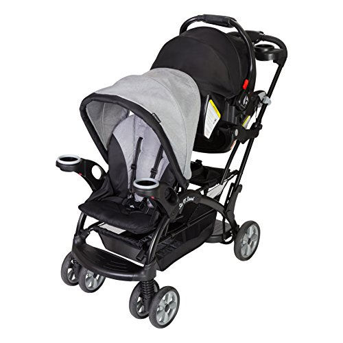 Baby Trend Sit n Stand Ultra Stroller, Morning Mist (Car Seat Stroller Double)
