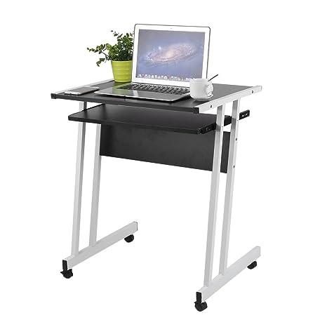 ALTERDJ: Mesa de Ordenador Portátil con Rodillo, para Oficina y Escritorio, Portátil,
