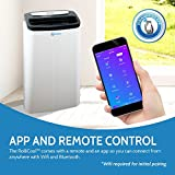 App-Enabled RolliCool Portable Air Conditioner – Quiet 14,000 BTU AC with Dehumidifier, Easy Install and Window Kit