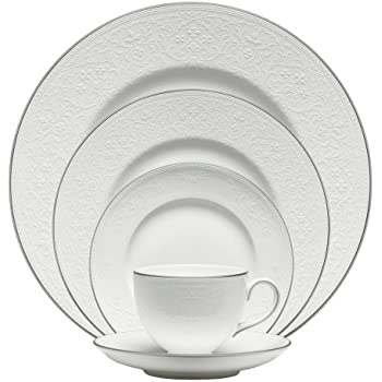 Wedgwood English Lace 5-Piece Place Setting  sc 1 st  Amazon.com & Amazon.com: Wedgwood English Lace 5-Piece Place Setting: Dinnerware ...