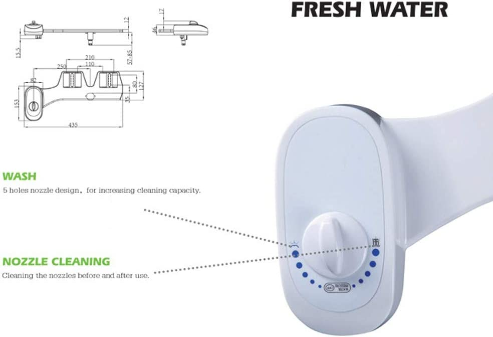 Augmentez Le Confort EU 3//8 99native@ Bidet Nettoyeur de Toilettes Portable hygi/ène Intime Kit Douchette Bidet pour WC Buse Non /électrique Rincez Les Hanches Feminine Cleaning