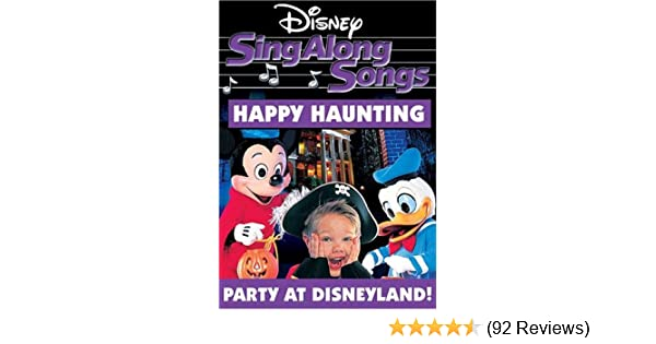 amazoncom disneys sing along songs happy haunting sing along songs happy haunting movies tv