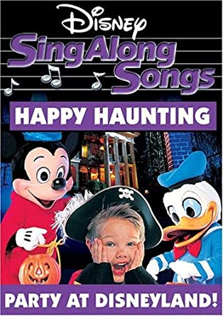 Amazon Com Disney S Sing Along Songs Happy Haunting Sing Along