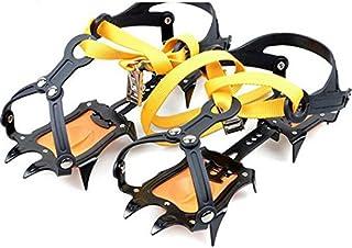TTYY Claws Crampons dell'acciaio inossidabile Pattini antiscivolo Coprire Sci esterno Snow Ice Snow Hiking