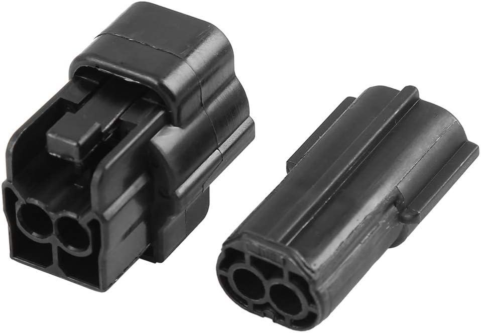 Set di connettori elettrici per Auto X AUTOHAUX 2 Pin Impermeabili