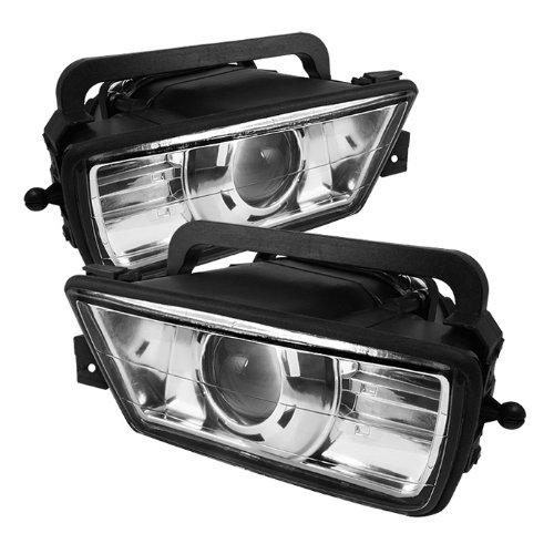E34 Projector (Spyder Auto FL-CH-BE3489-E BMW E34 5-Series Euro Projector Fog Light)
