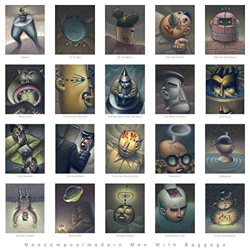 Imagekind Wall Art Print entitled Neocompostmodern Men Baggage Jere Smith | 36 x 36