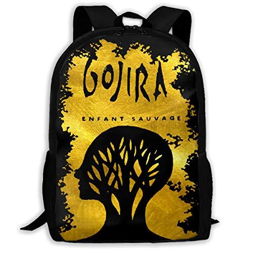 Backpack, Travel Hiking Gojira L'enfant Sauvage Backpacks Waterproof Big Student College High School Shoulder Bag Outdoor Backpacks For Men Women Adults