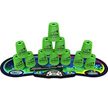 Speed Stacks Competitor Sport Stacking Set, Neon Green