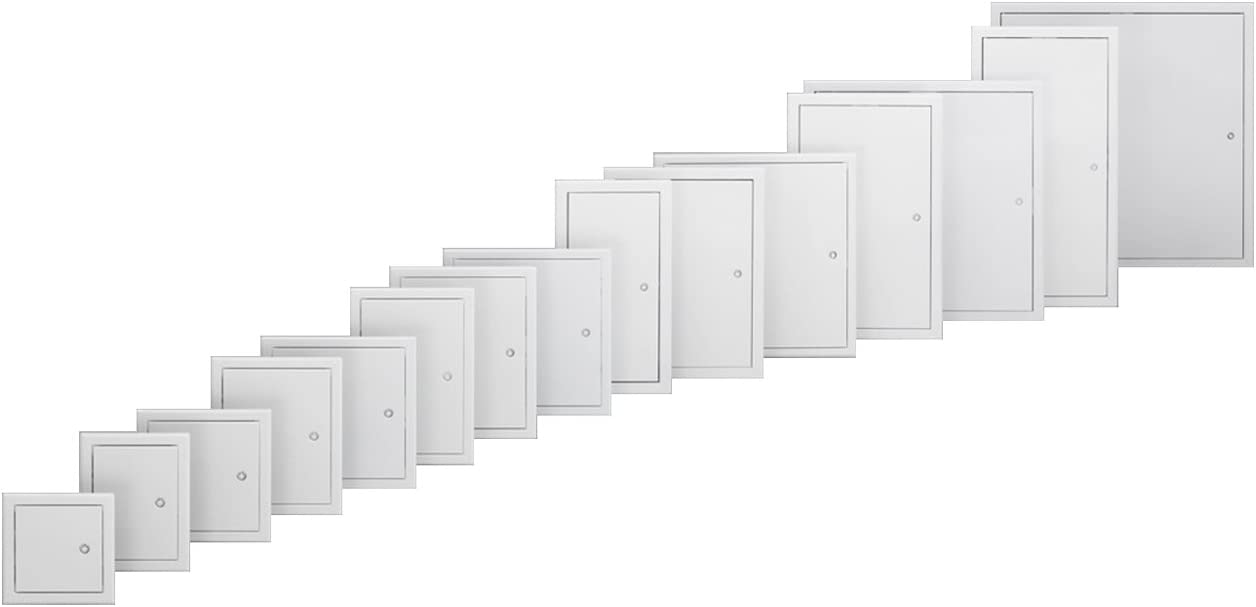 Decken- und Wandmontage Softline wei/ß beschichtet 200x300 Revisionsklappe Markenqualit/ät RUG SEMIN Alle Gr/ö/ßen Revisionst/ür Stahlblech